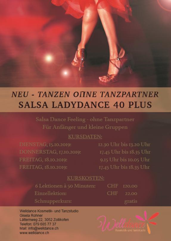 Flyer Salsa Tanzkurs